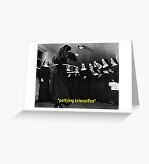 Nuns greeting cards redbubble nun hula hoop party greeting card m4hsunfo