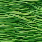 Beans in line by Arie Koene