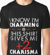 Charismatic Unisex T-Shirt- Dungeons and Dragons Graphic T-Shirt