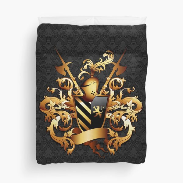 Medieval Coat of Arms Duvet Cover