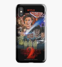Stranger Things Season Two Fan Poster iPhone Case/Skin
