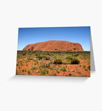 Uluru Greeting Card