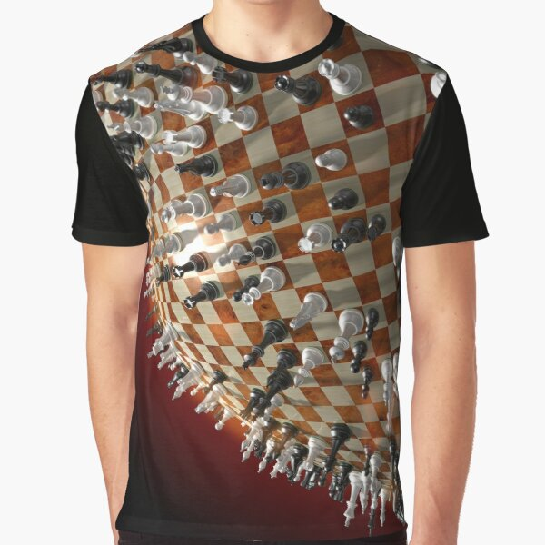 Global Chess Game Graphic T-Shirt