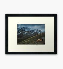 Caucasian mountains Framed Print