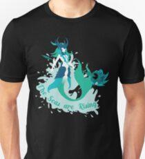 Die Meere sind auf dem Vormarsch Slim Fit T-Shirt
