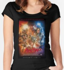Kung Fury Women's Fitted Scoop T-Shirt