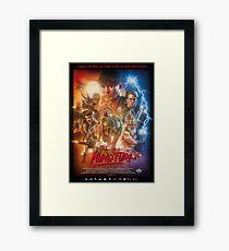 Kung Fury Framed Print
