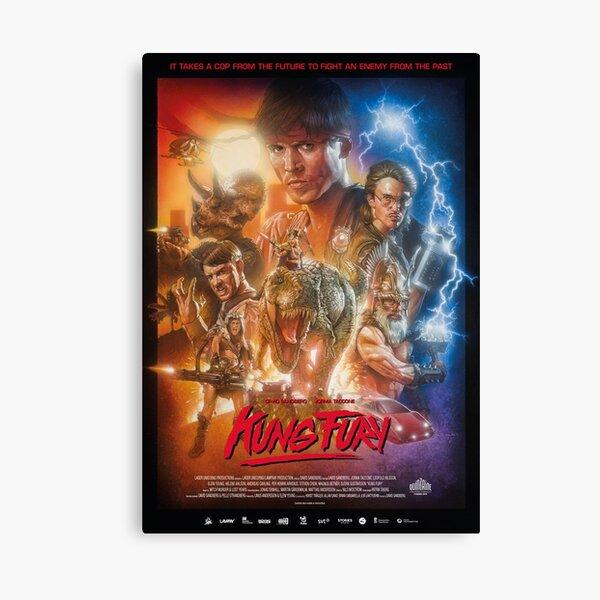 Kung Fury Canvas Print