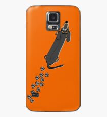 Walked on by a Dachshund Case/Skin for Samsung Galaxy