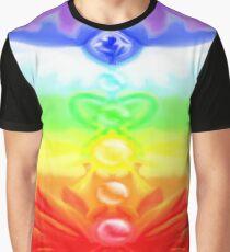 Radiant Colors Chakra design Graphic T-Shirt