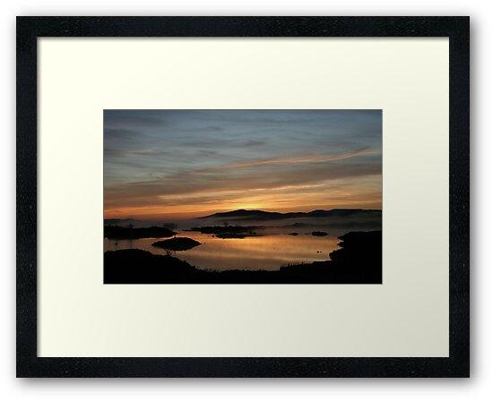 Loch Ba sunrise by beavo