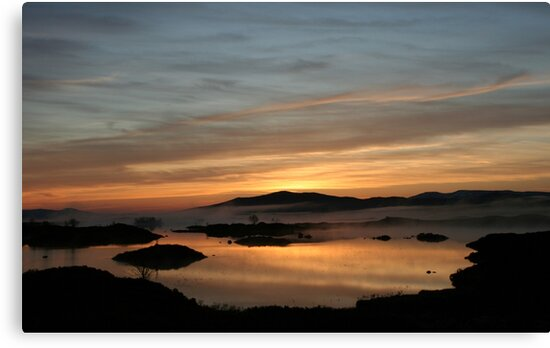 Loch Ba sunrise by beavo