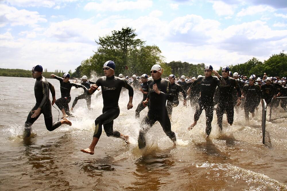 Triathlon Sprint Depart by Elodie