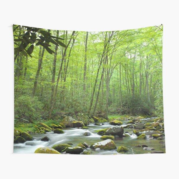 Spring Forest Stream Tapestry