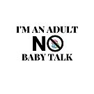 No Baby Talk by EWAutismLibrary
