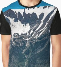 breath taking view of the eagle cap wilderness at 8 thousand ft up Graphic T-Shirt