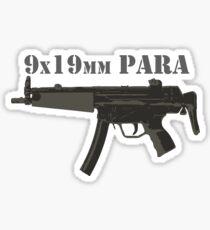 MP5 9x19mm Parabellum  Sticker