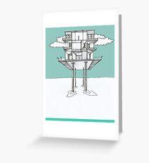 Stilt Architecture Greeting Card