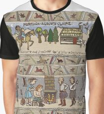 Part 3 of Outlandish Panels (Gabeaux Tapestry) Graphic T-Shirt