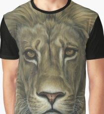 Lion African Wildlife Painting Graphic T-Shirt