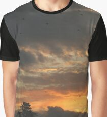 Stop to Watch the Sunset Graphic T-Shirt
