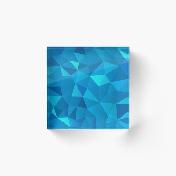 Polygon Patterns 1 Acrylic Block