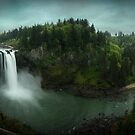Snoqualmie Falls by James Duffin