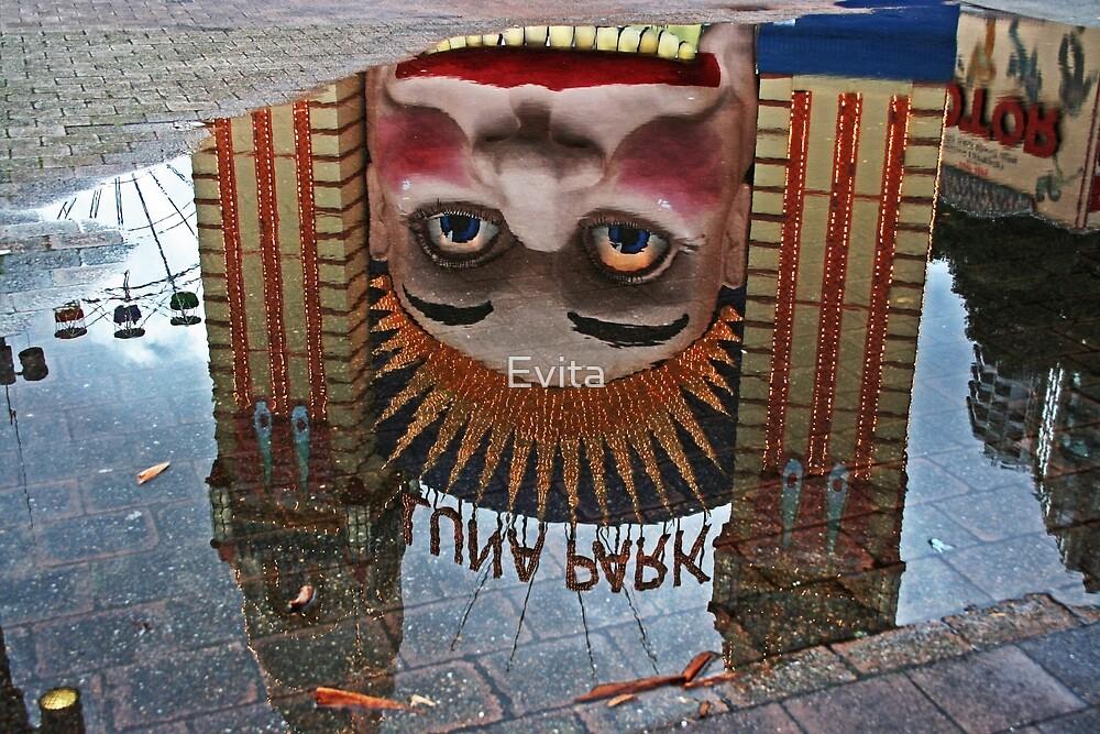 Luna Park Reflection by Evita