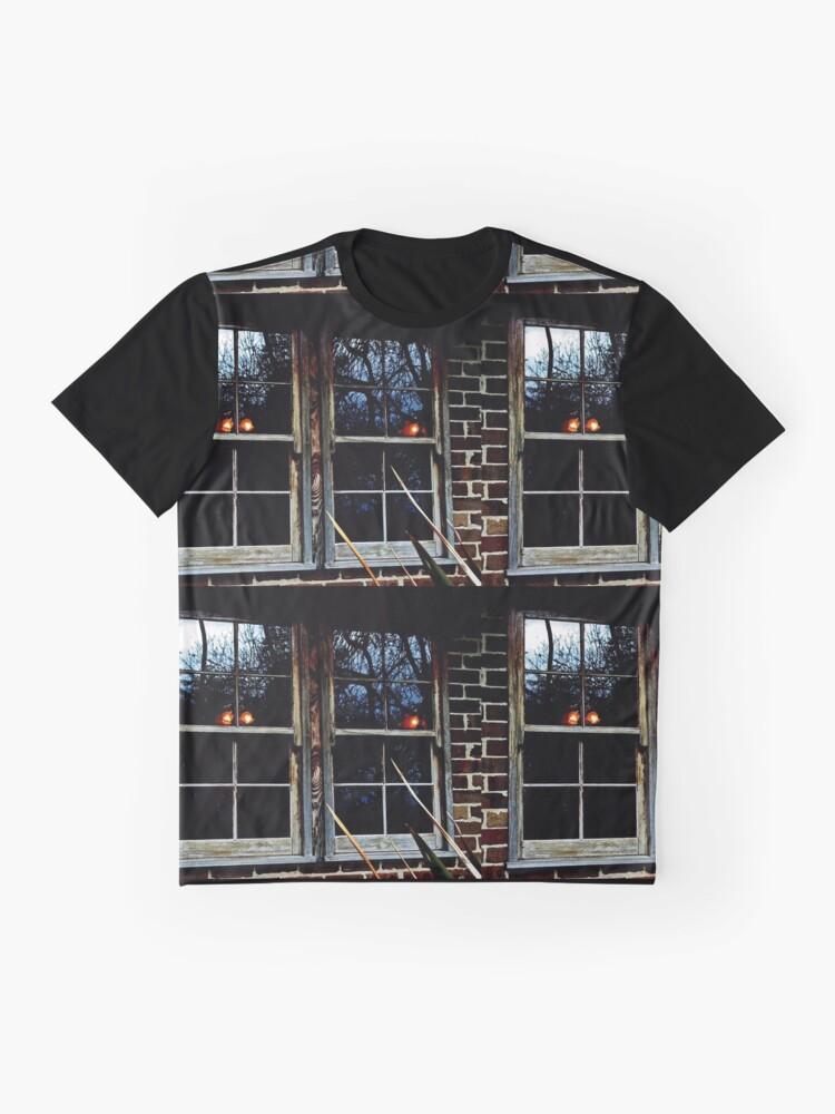 Alternative Ansicht von Reflexionen Grafik T-Shirt