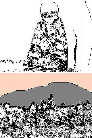 sitting mountain 2 by mhkantor