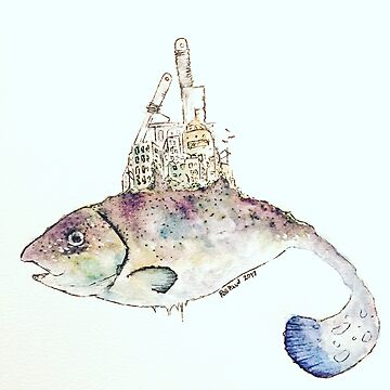 Land fish by DOPAMINEMACHINE
