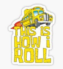 Magic School Bus Art Design Sticker