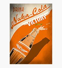 Drink Nuka Cola Victory Poster Photographic Print