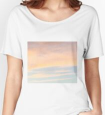 Gentle Sunset with Good Vibes Women's Relaxed Fit T-Shirt