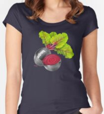 let the beat drop Women's Fitted Scoop T-Shirt