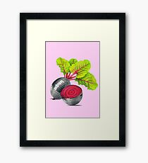 let the beat drop Framed Print