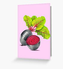 let the beat drop Greeting Card