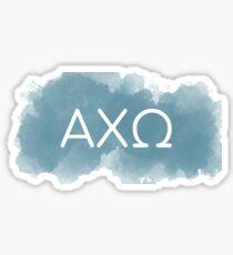 blue axo Sticker