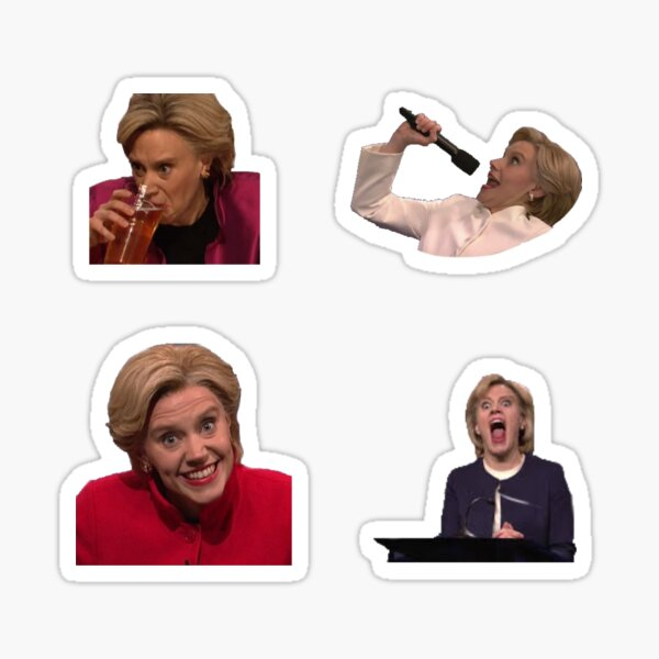 Ridiculous kate Hillary Clinton pack Sticker
