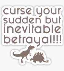 Firefly Curse your Sudden but Inevitable Betrayal Sticker