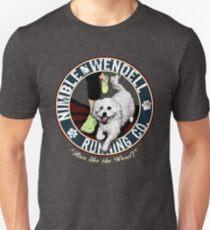 Nimble Wendell Running Co. (vintage illustration) Unisex T-Shirt
