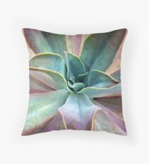Organic Beauty Throw Pillow