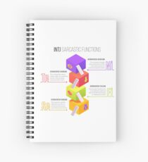INTJ Sarcastic Functions Spiral Notebook