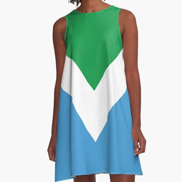 International Vegan Flag 2 A-Line Dress