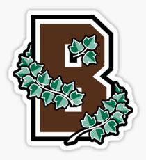 Brown University Sticker