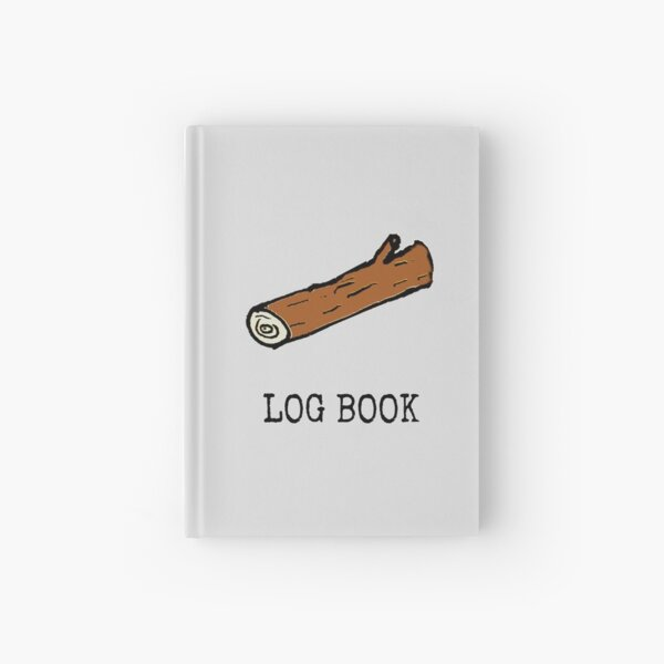 Log Book Hardcover Journal