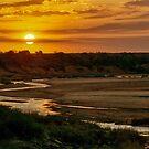 An African Sunset by Deborah V Townsend