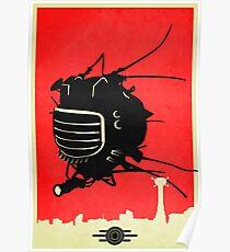 E-DE Fallout neues Vegas-Plakat Poster