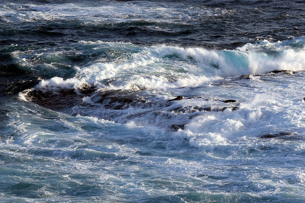Bass Strait Currents by Dave Law