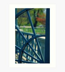 Iron Gate - Roger Williams Park Art Print
